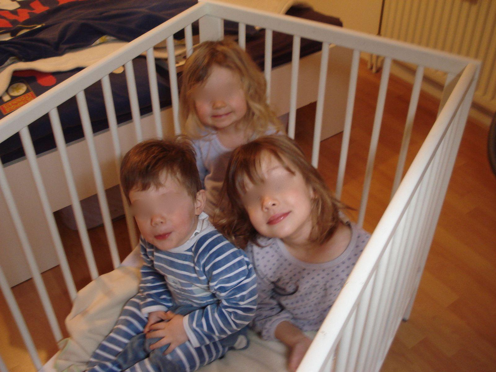 On dirait 3 petits anges...