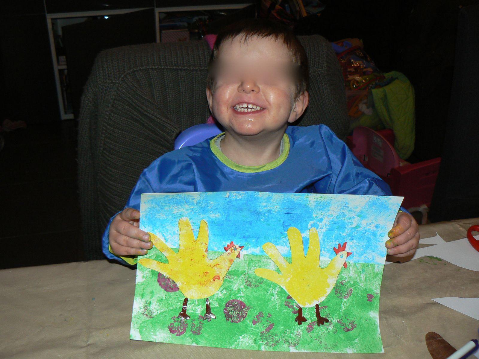 Peinture de Pâques