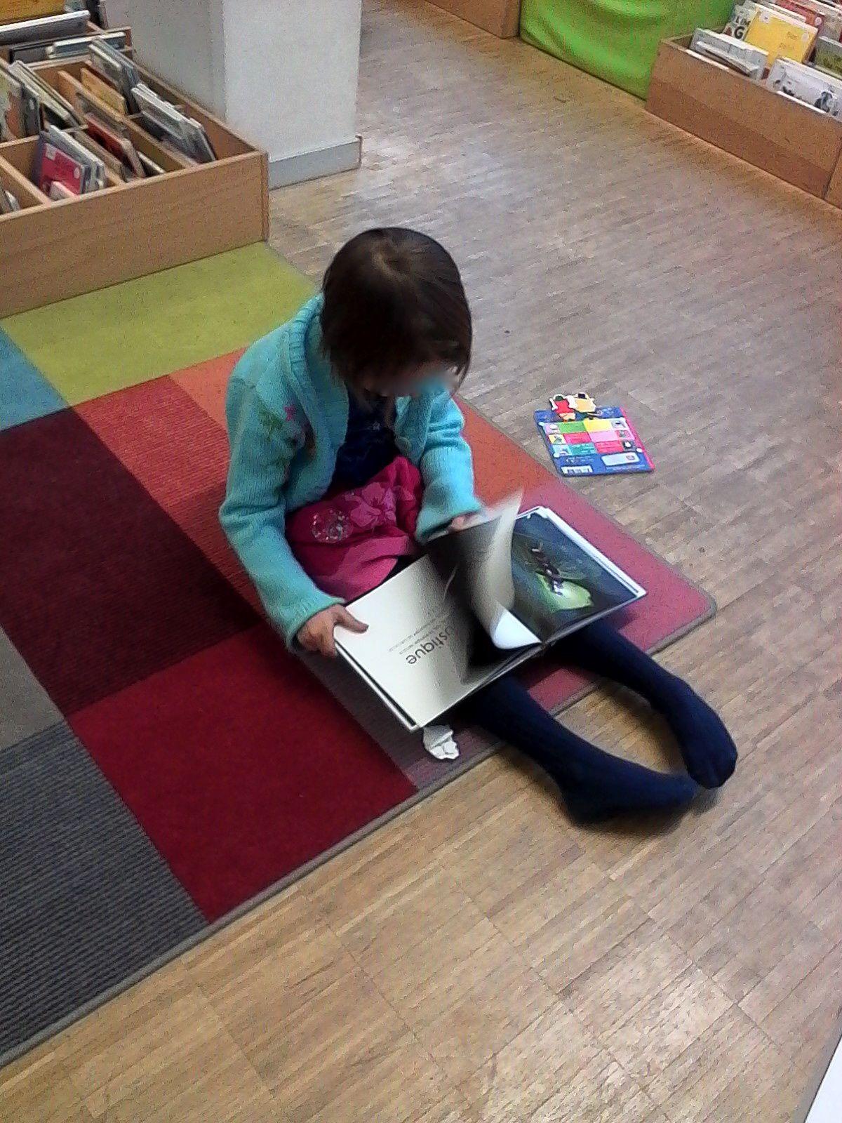 Nos petits et grands lecteurs