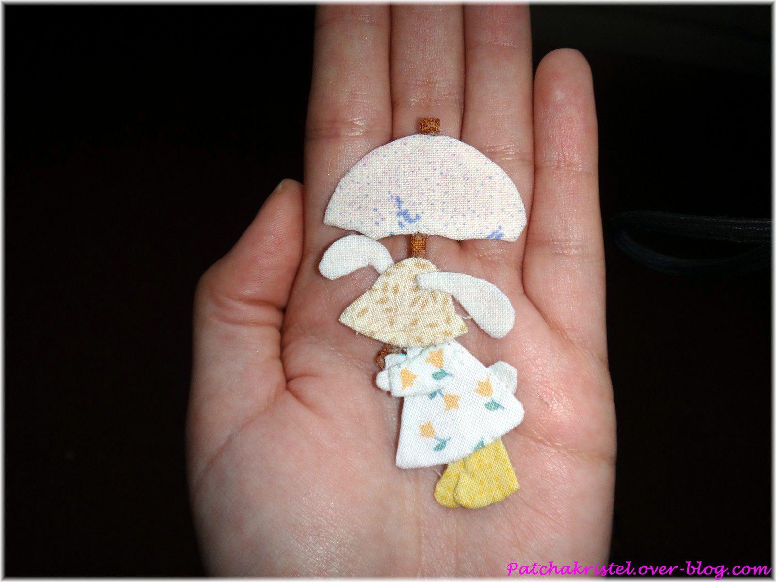 lapin printemps reiko kato - miniature dans ma main