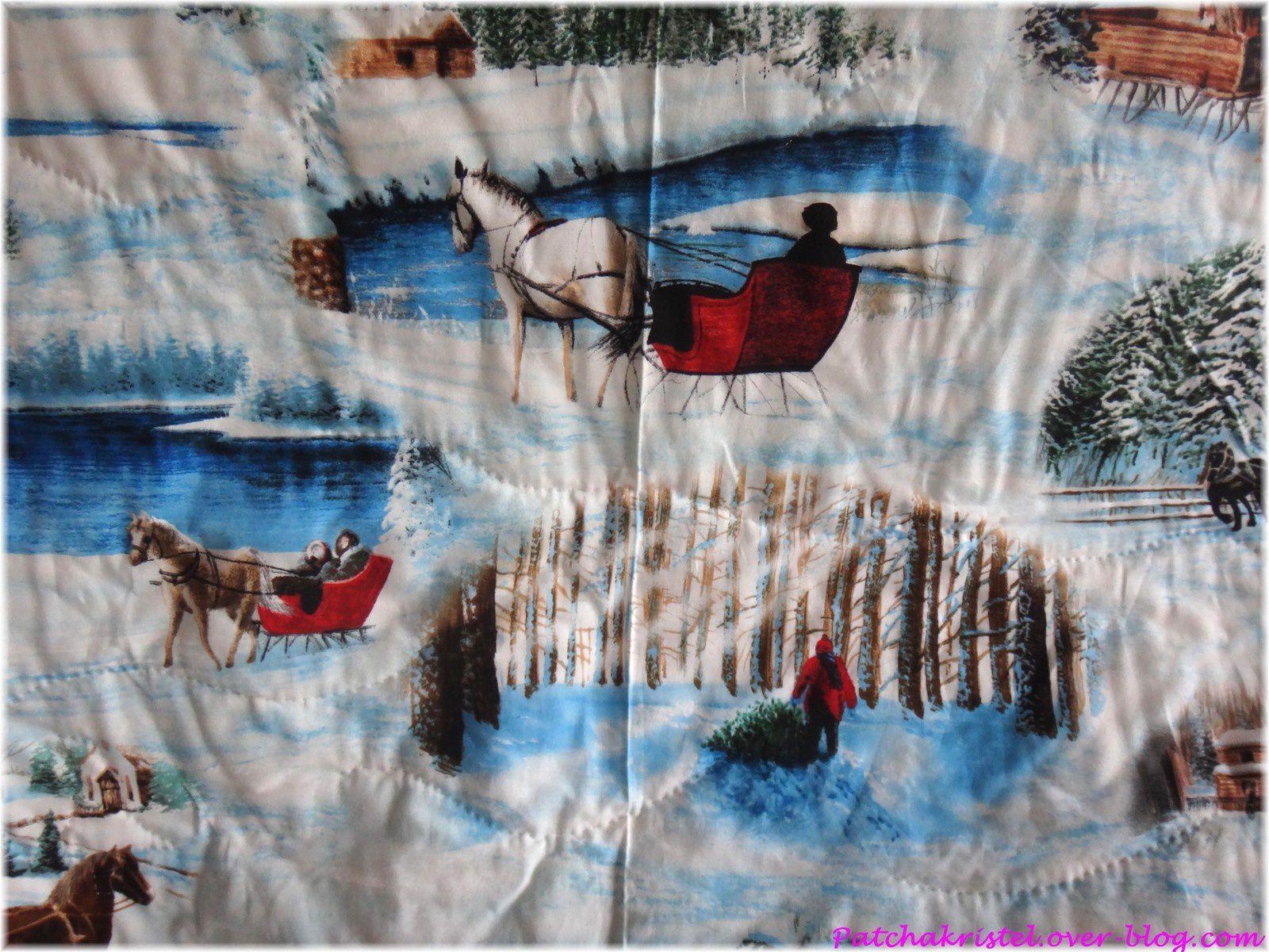 Les Poulettes de Noël - pose du biais - vue du dos - zoom