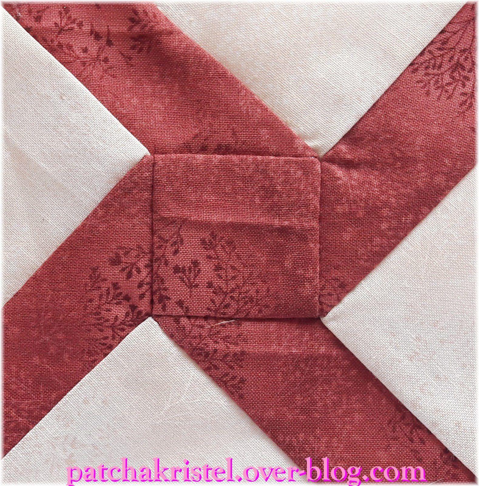 Fil rouge - Bloc Patchwork