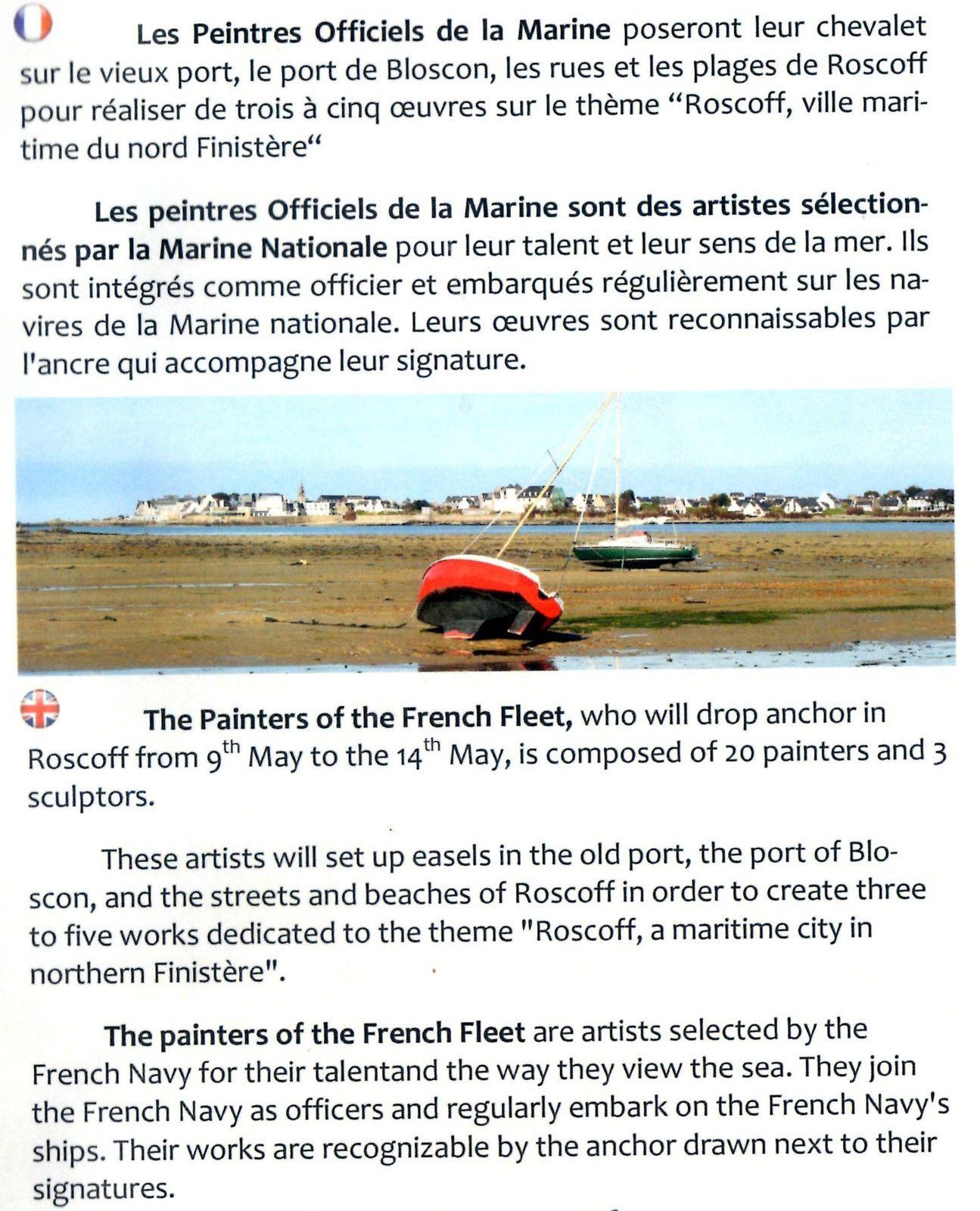 Du 9 au 14 mai : L'Escale des Peintres Officiels de la Marine