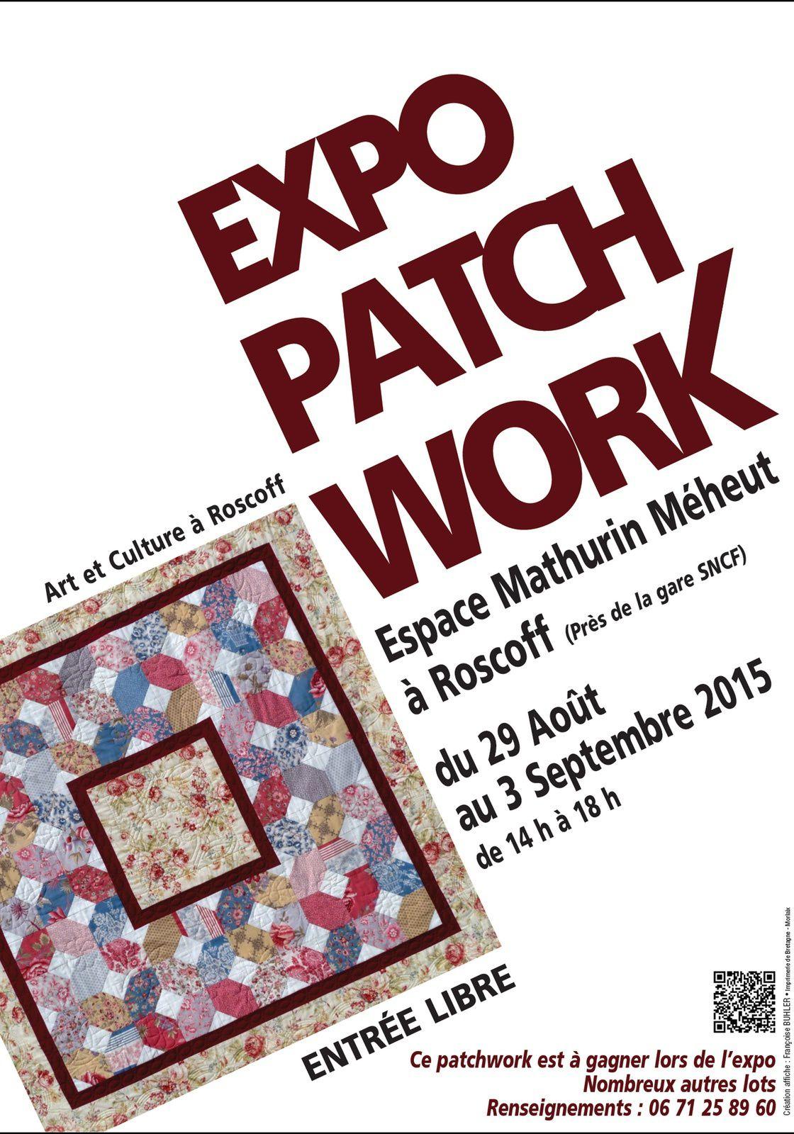 Du 29 août au 3 septembre : Exposition de Patchworks