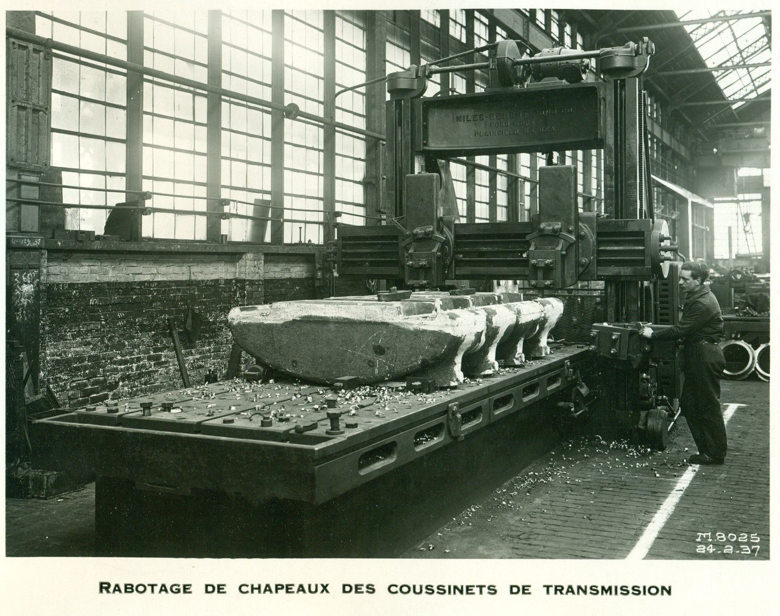 Compagnie de Fives Lille Fabrication de moulins à cannes en 1936