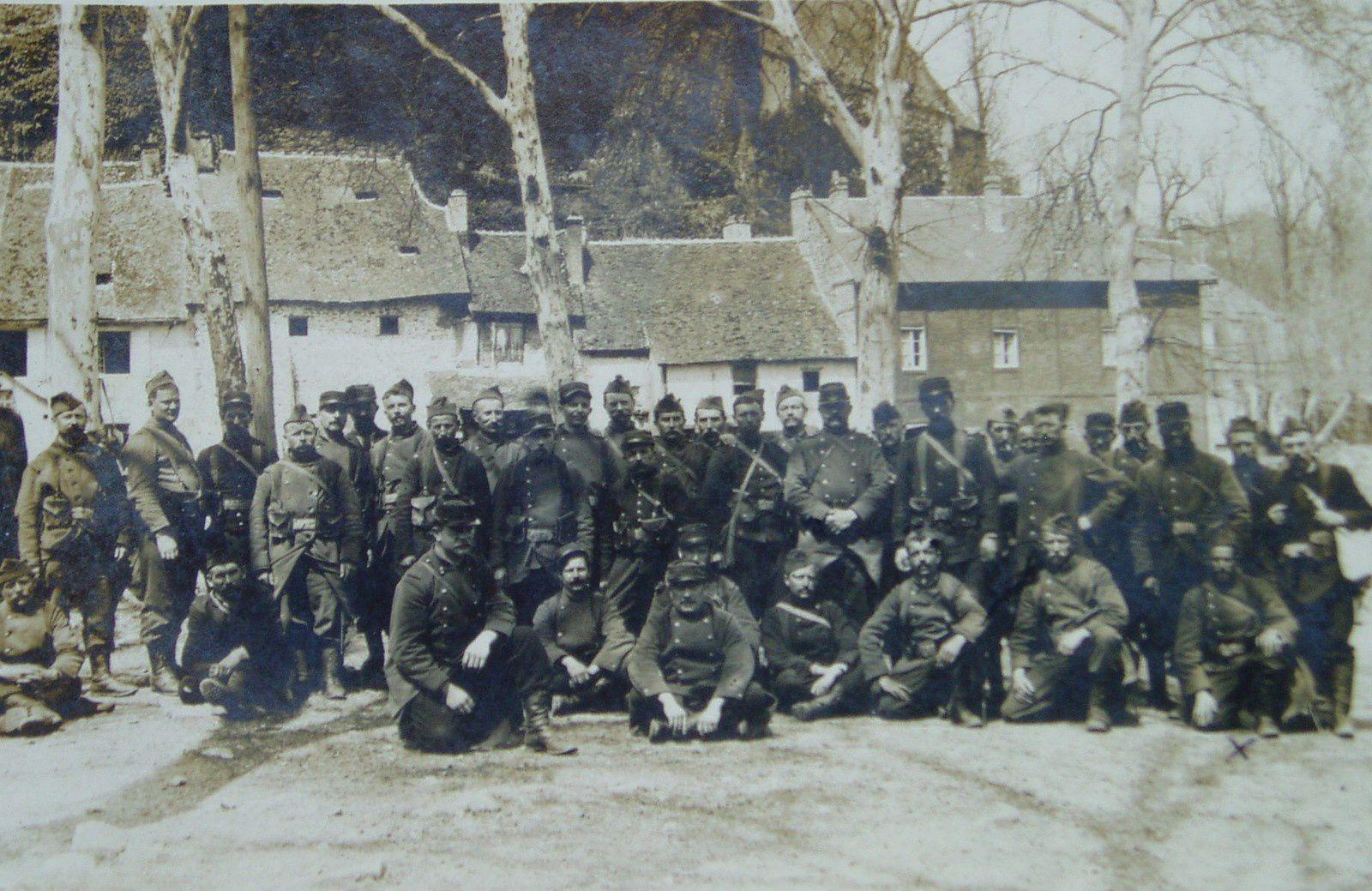 cartes postales soldats guerre 14-18
