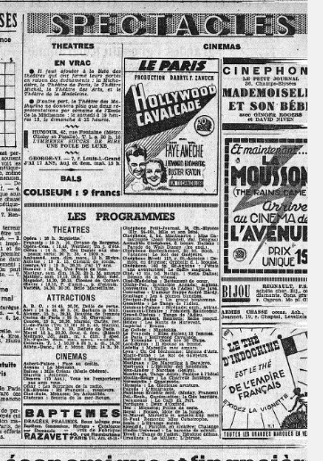 les spectacles le petit journal du 18 mai. source gallica