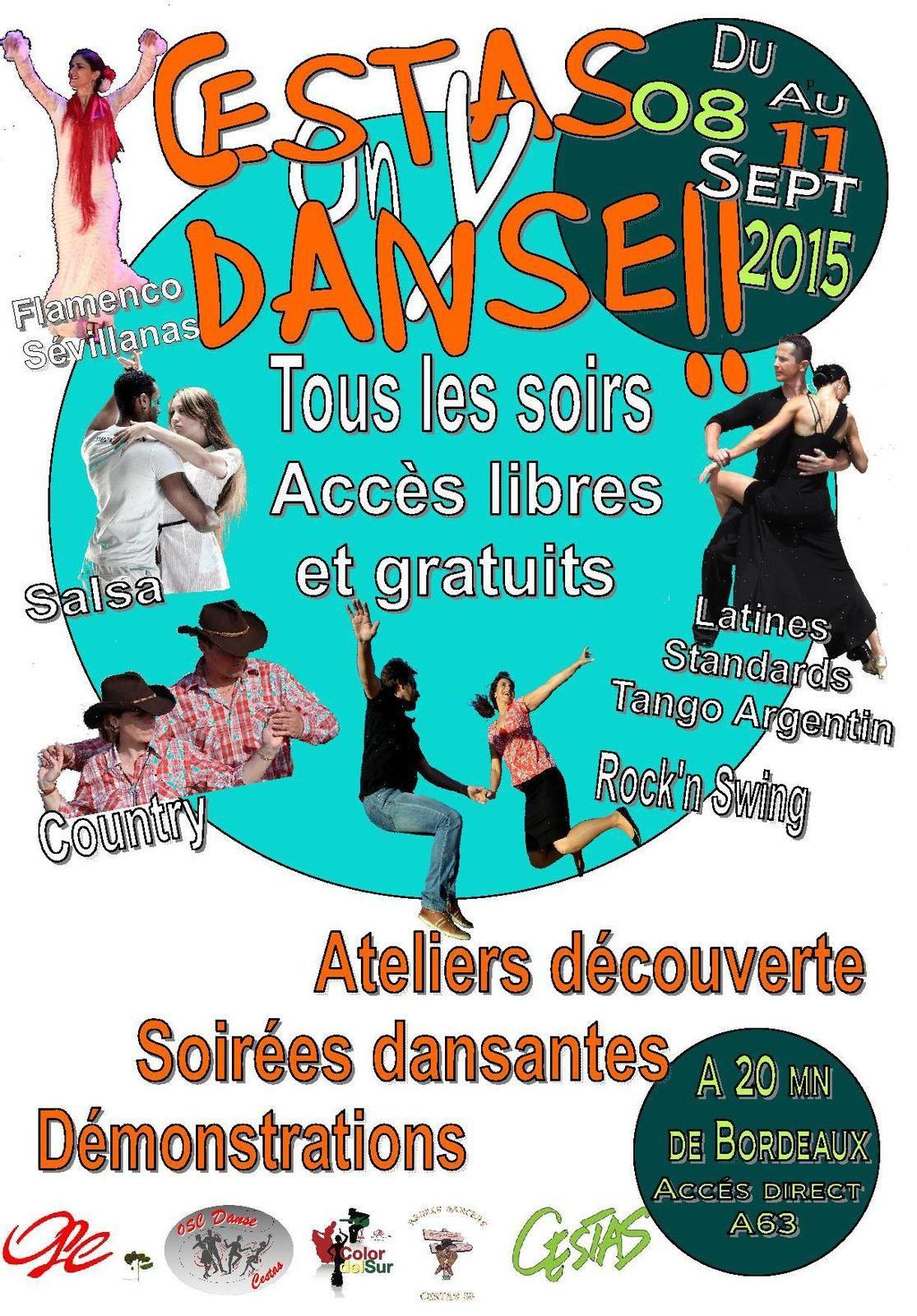 2d édition du festival Cestas On y Danse !!