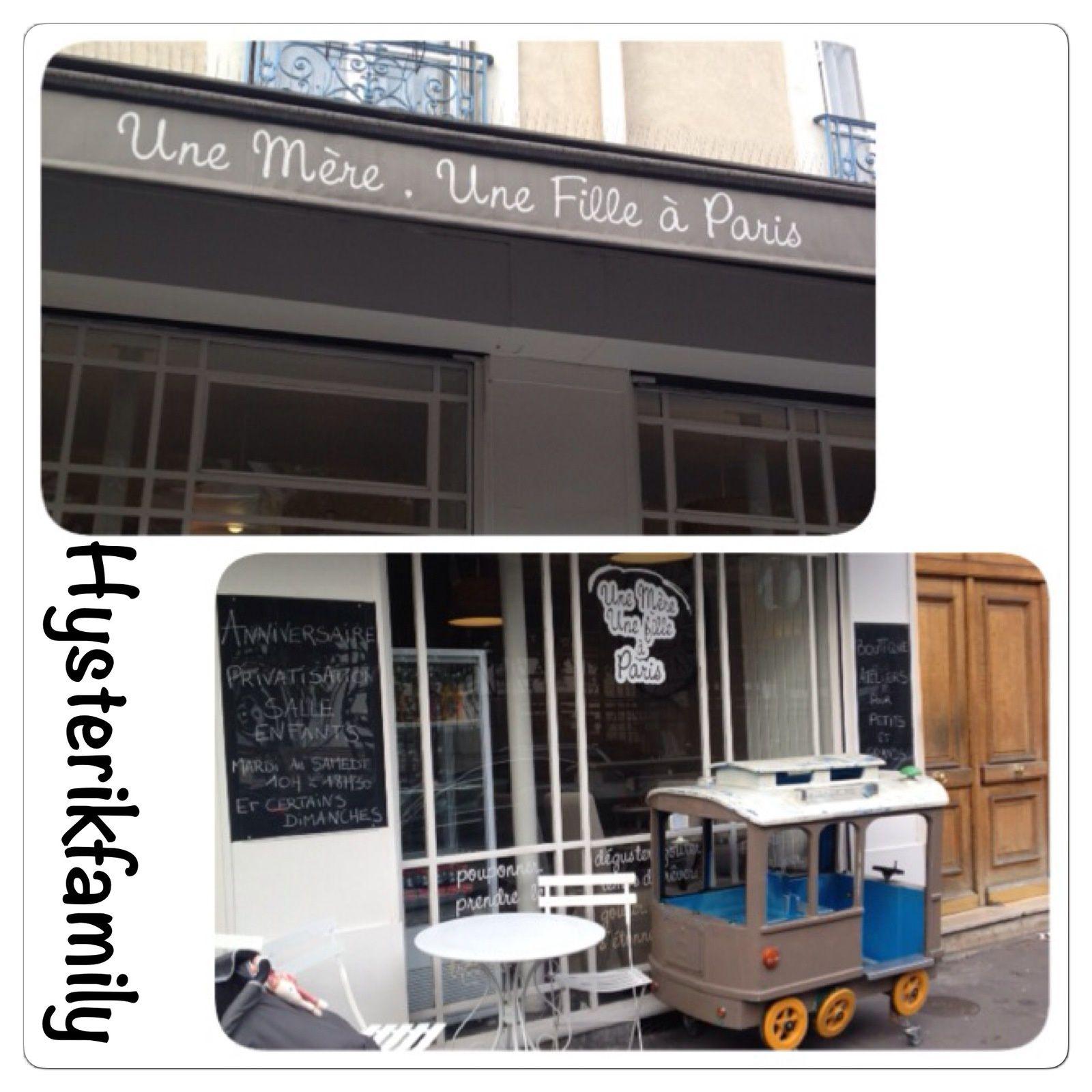 Une mère, une fille à Paris, ou le café des mamans et papas