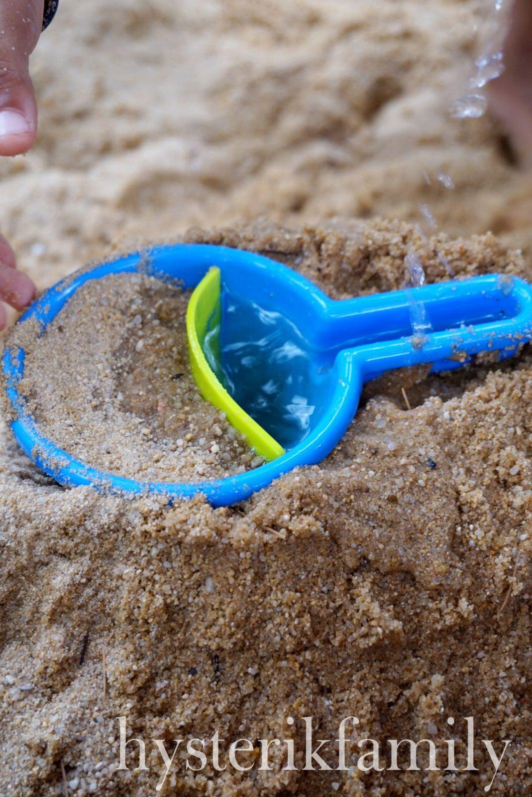 Le bac à sable, en attendant la plage [ test - avis HABA ]