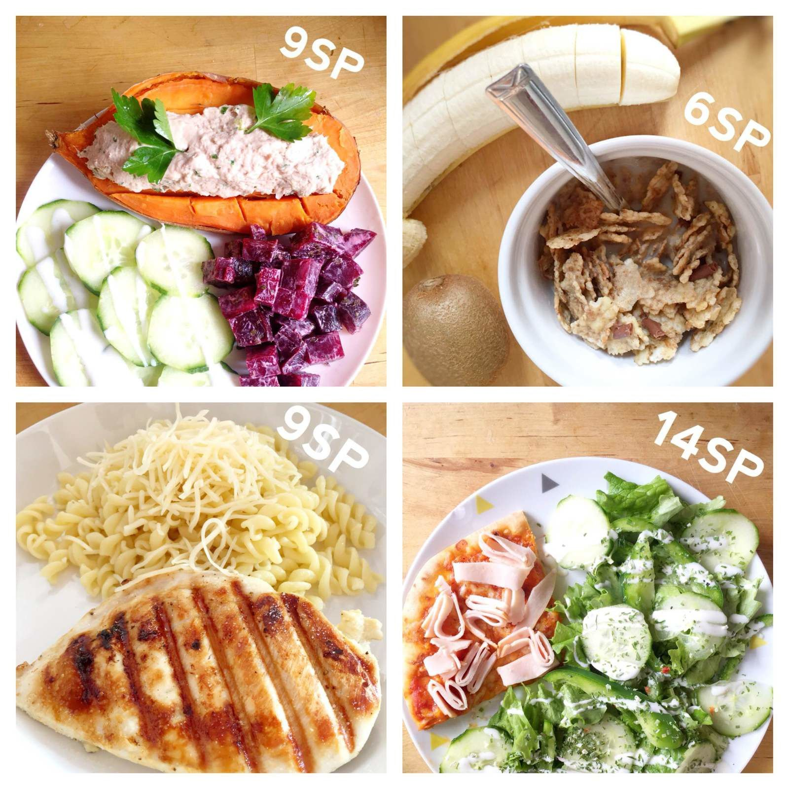 Mon suivi weight watchers bilan semaine 60 61 for Idee repas a partager