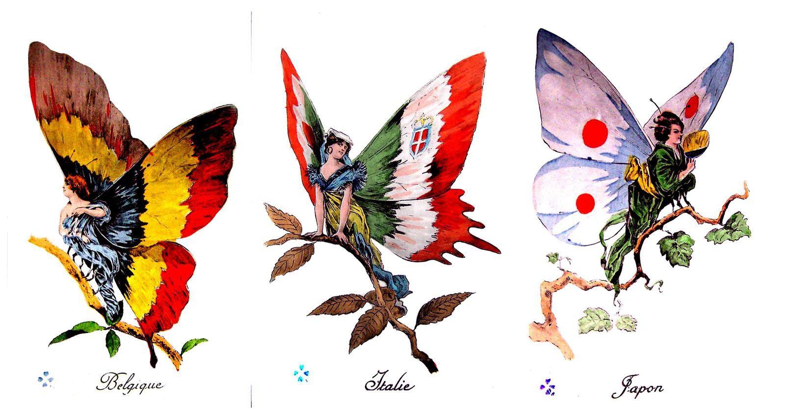 14-18 : des insectes symbolisaient les belligérants