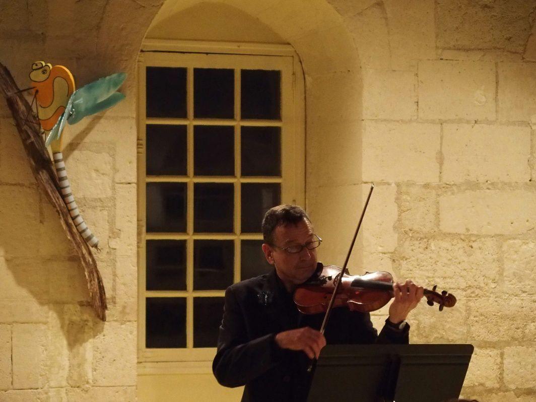 Pierre Cesmat au violon
