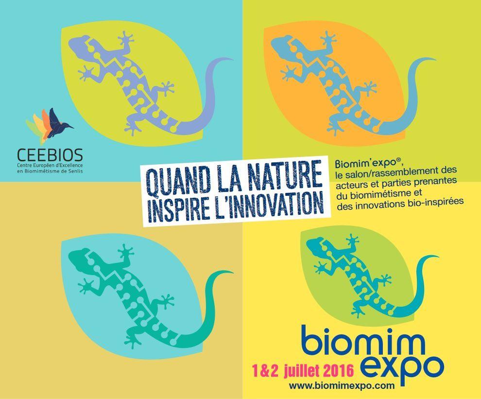 L'Agrion de l'Oise à Biomim'Expo les 1er et 2 juillet