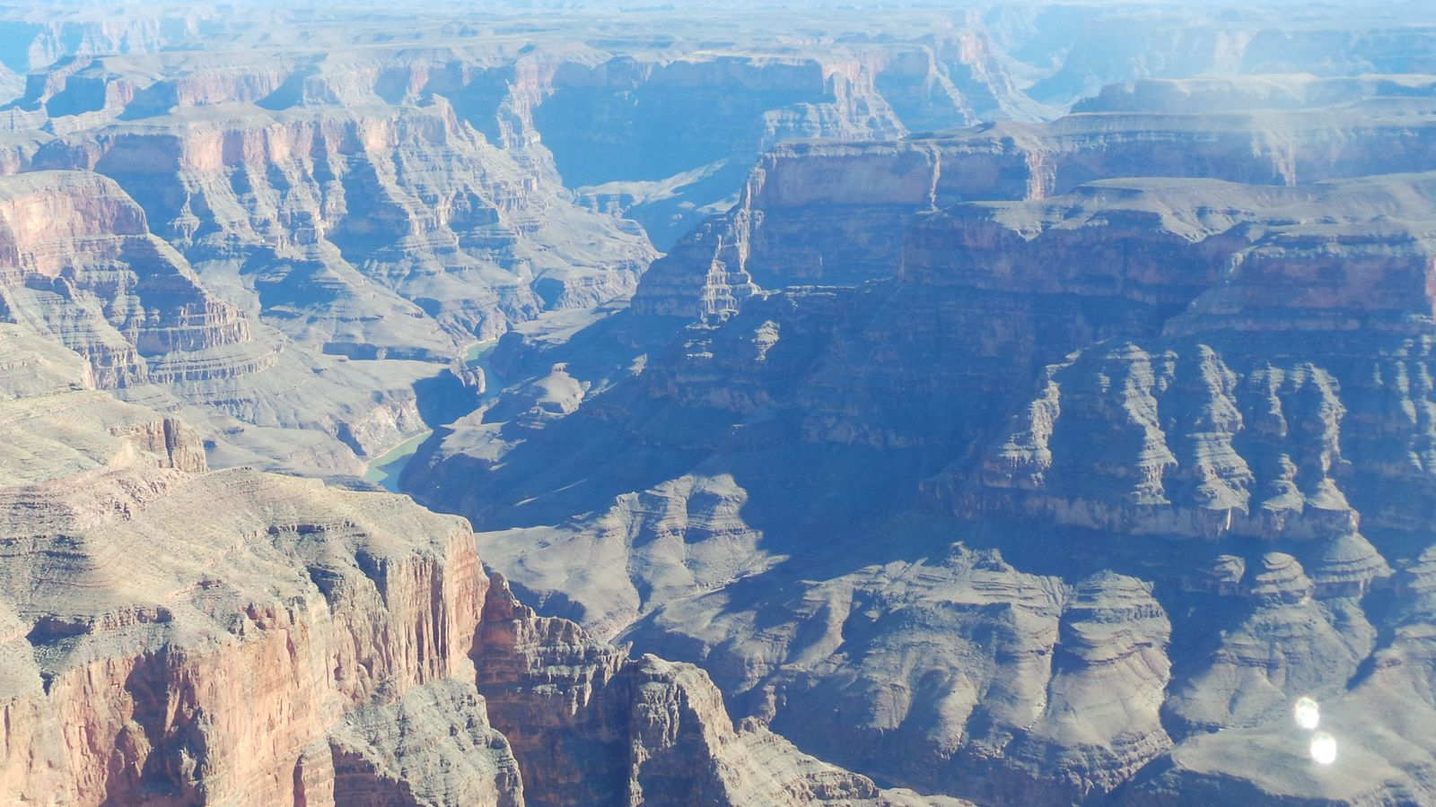 Le Grand Canyon vu d'en haut.....prend ses galons fashion !