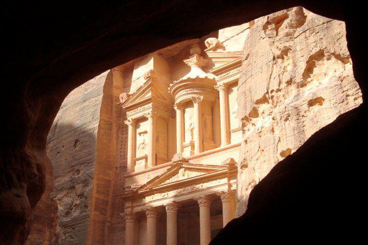 Le site de Petra, en JORDANIE