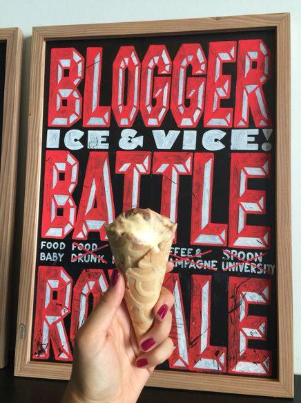 Très bon glacier à New York, spot gourmand pour bloggueurs et bloggueuses