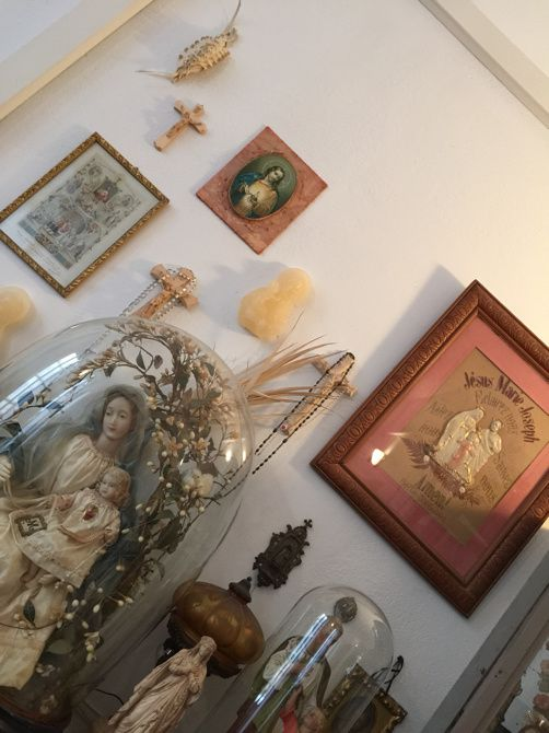 Porte bonheur corses, cabinet de curiosités Zia Antonia