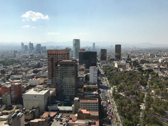 La plus belle vue de Mexico