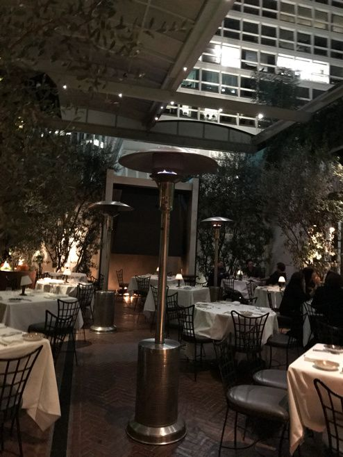 Le restaurant le plus fashion de Los Angeles, SPAGO.