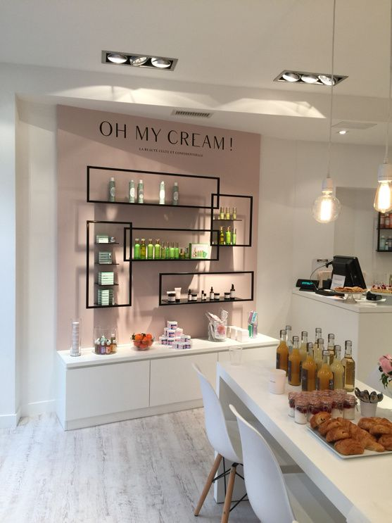 Inauguration du concept store beauty Oh My Cream aux Abbesses, Paris