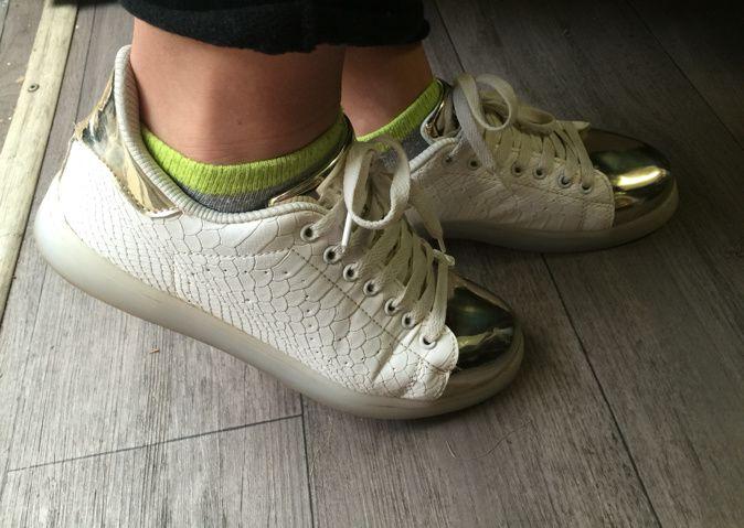 Les baskets lumineuses