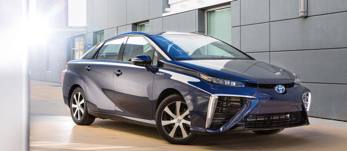 Toyota Miraï électrique pile à hydrogène