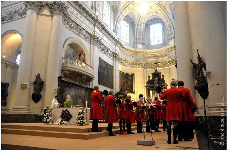 Fête de la Saint-Hubert à la Cathédrale de Namur