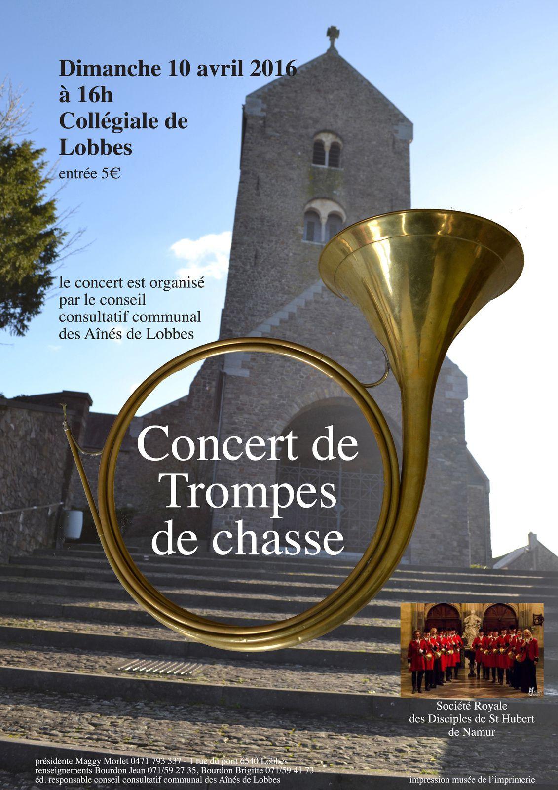 ♫ Souvenir du concert à la Collégiale de Lobbes, dimanche 10 avril 2016