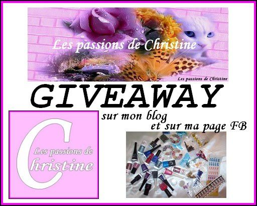 GIVEAWAY ICI :D