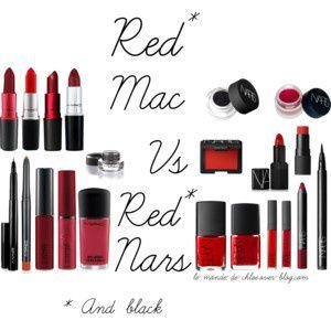 Red Mac vs Red Nars !!!