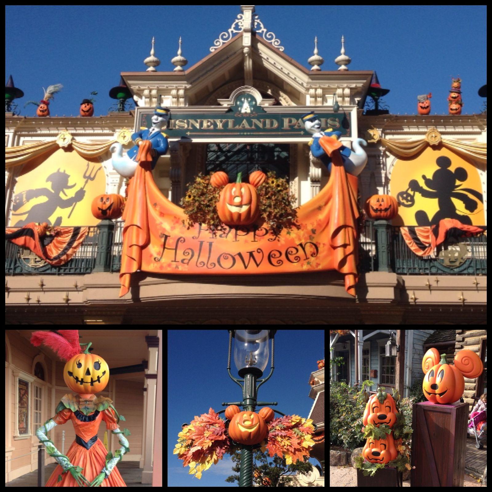 Disney Land en Mode Halloween