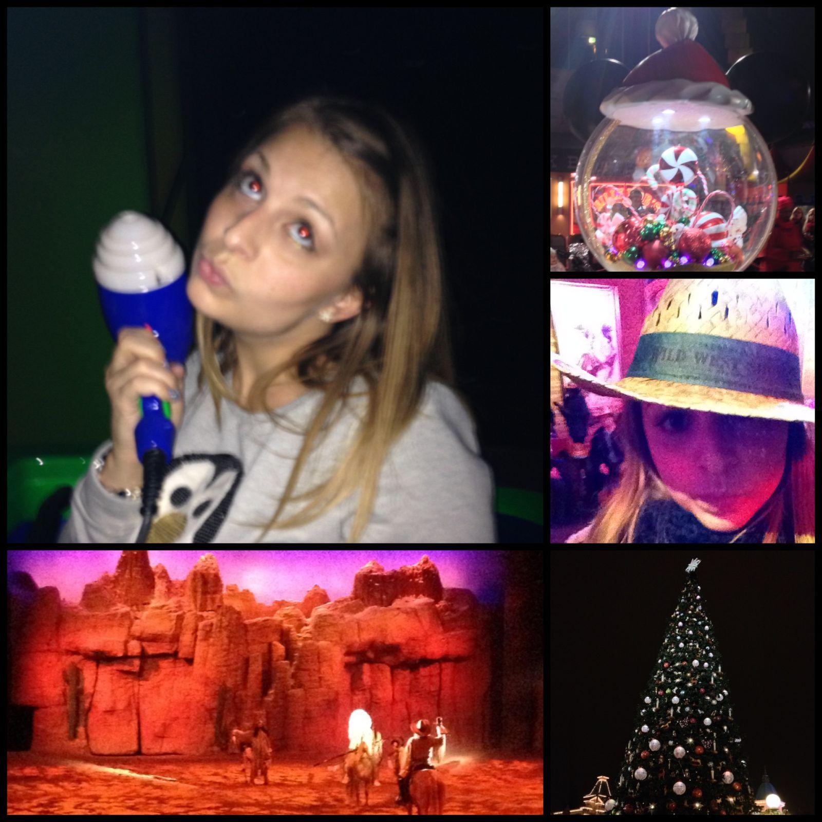 Disney Land en Mode Noël
