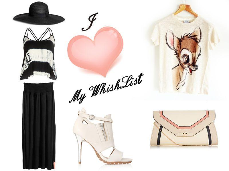 Whishlist  Mode du mois &#x3B;)