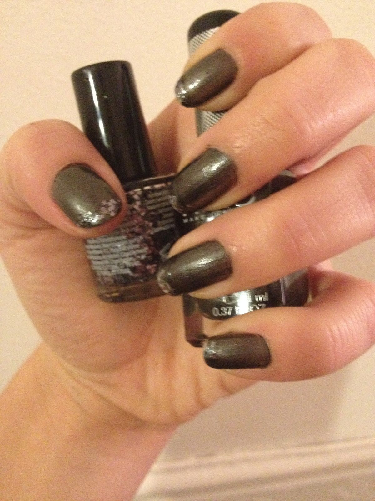 French Black Paillettes