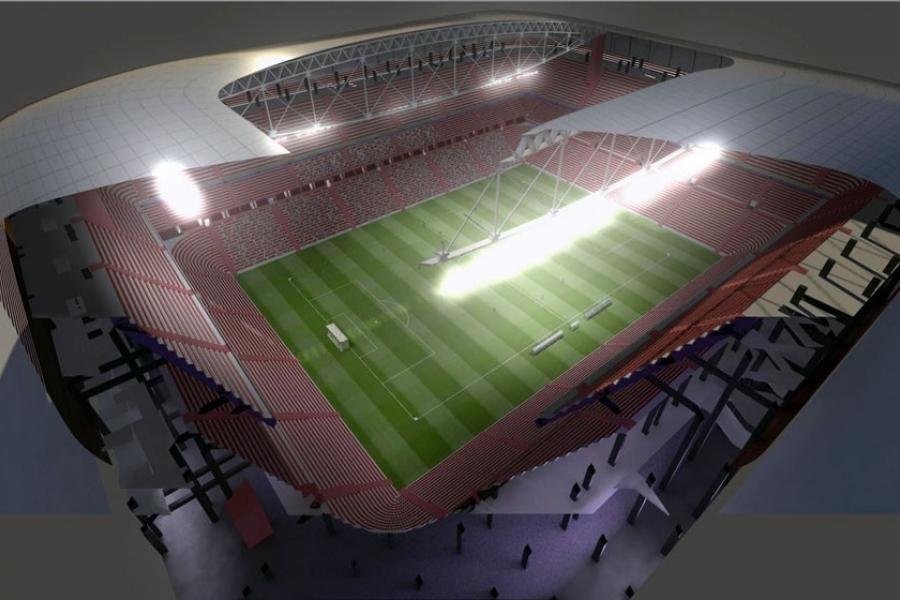 Le stade bordeaux atlantique un projet au rabais stade - Petuaud letang ...