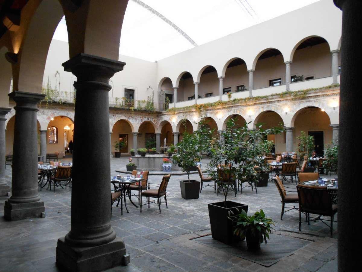 Hôtel Quinta Real de Puebla, la vie au couvent sans l'ascétisme