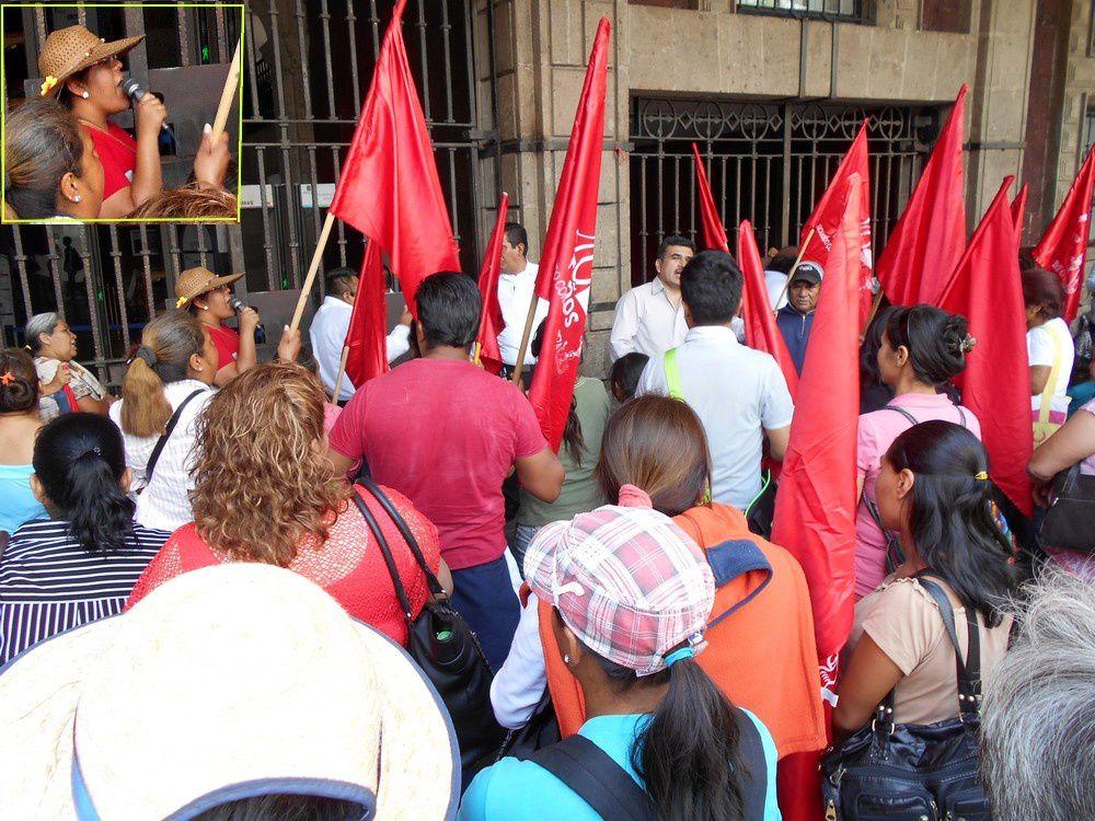 Manifestation Antorchista à Cuerna : s'en inspirer dans l'Hexagone ?
