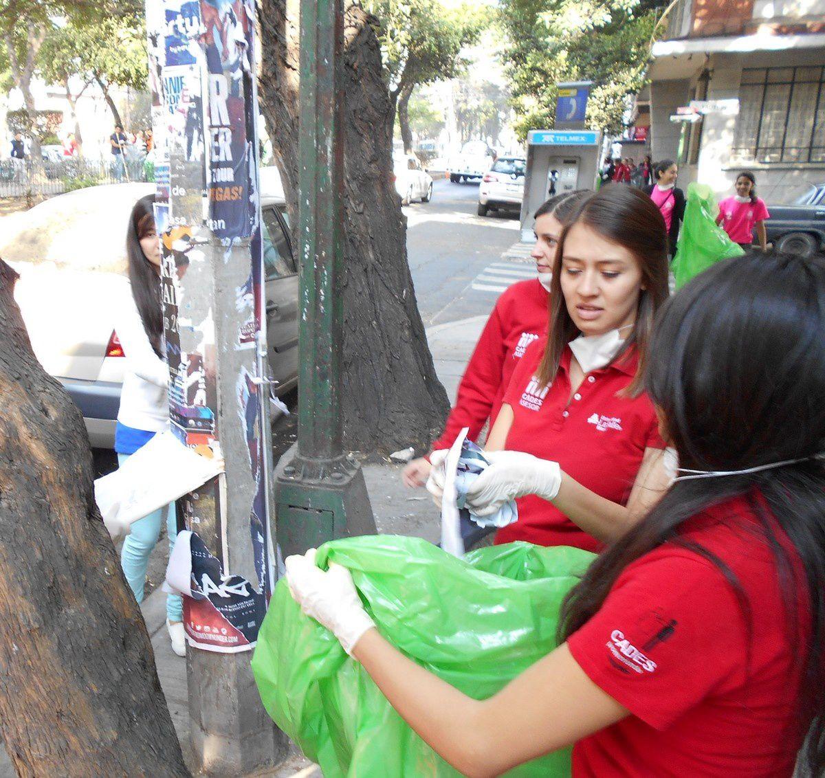 Opération grand nettoyage sur les boulevards de Mexico