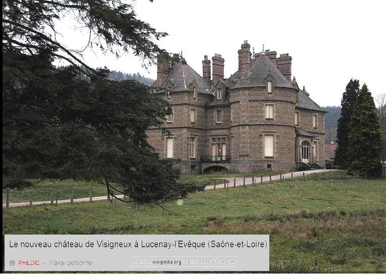 Balade à Lucenay-l'Evêque, point de prélat aujourd'hui mais... deux églises