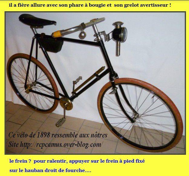 Un vélo basique, ça rime quand même avec magique !