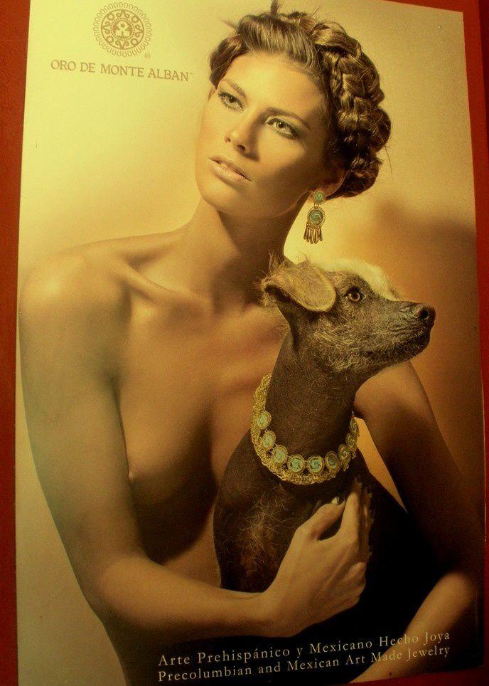 La belle et le chien … nus à San Miguel ou Oaxaca