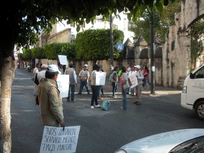 Des photos à scruter, celles du centre et du sud de la ville de Cuernavaca
