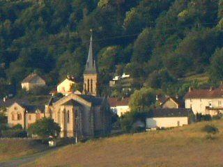 Une vue idéale sur Saint-Symphorien-de-Marmagne au sud d'Autun