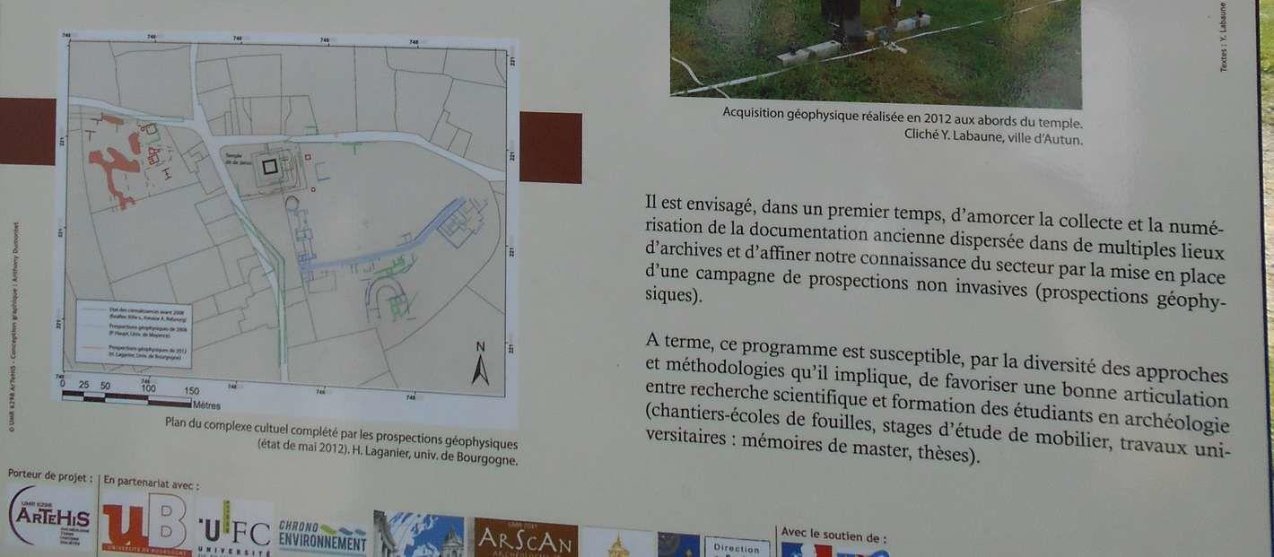 C'est l'été, les fouilles archéologiques battent leur plein à la Genetoye à Autun