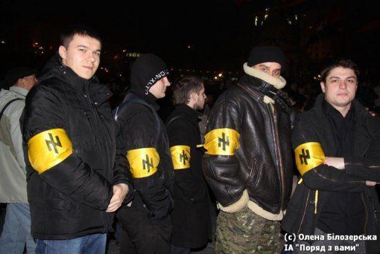 Ukraine: quand les nazis mènent le bal