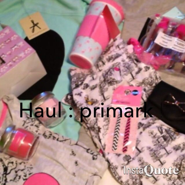 Haul : primark ! (Grand littoral)