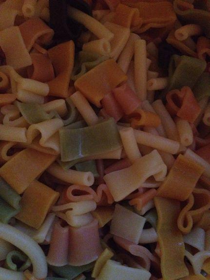 Recette : salade de pâtes :)
