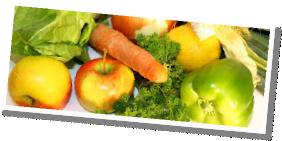 La cueillette de légumes