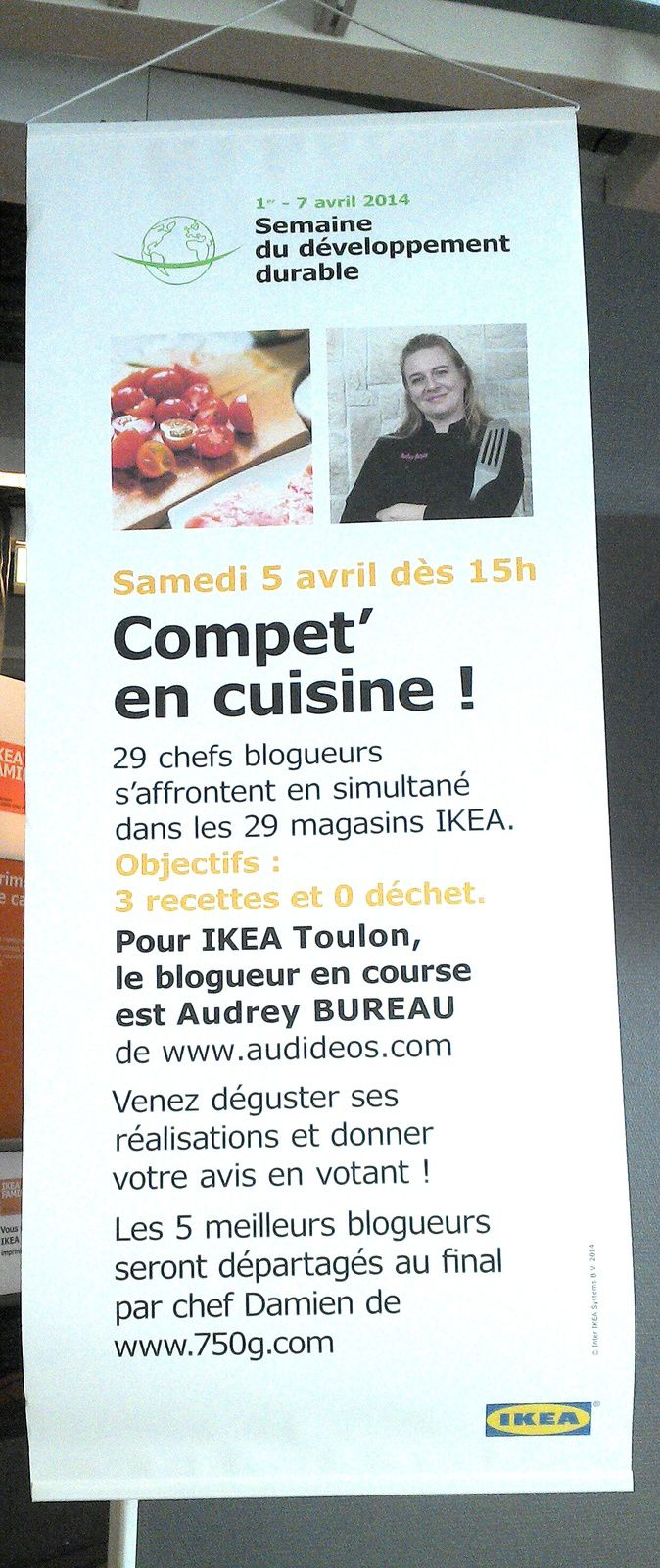 Ikéa, concours culinaire